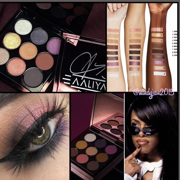 M•A•C AALIYAH eyeshadow palette AGE AIN'T NOTHING Boutique